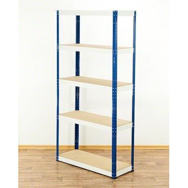 Helios Color 180x75x40 5p 175kg na półkę / Kolor:Biało-Niebieski