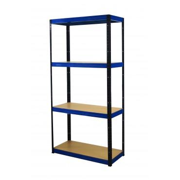 Color 180x110x50 4p 350kg na półkę / Kolor: Czarno-Niebieski