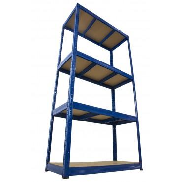 Helios Color 180x75x30 4p 275kg na półkę / Kolor: Niebiesko-Niebieski