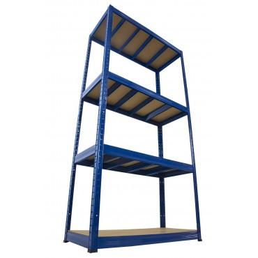 Helios Color 180x100x30 4p 400kg na półkę / Kolor: Niebiesko-Niebieski