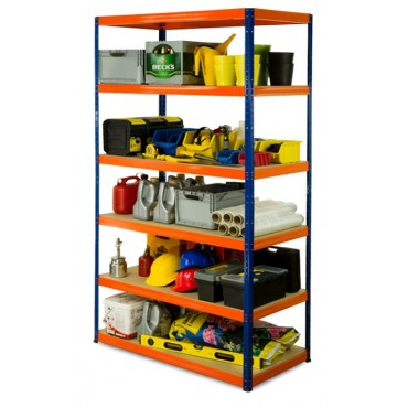 Helios Color 213x120x60 6p 275kg na półkę / Kolor: Niebiesko-Pomarańczowy