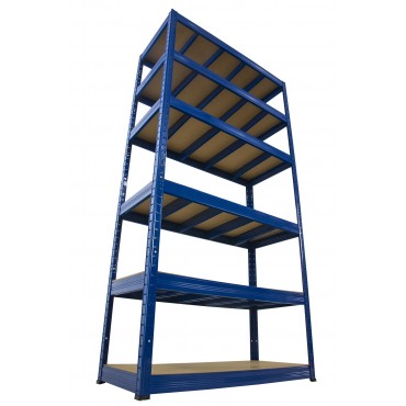 Helios Color 213x110x30 6p 400kg na półkę / Kolor: Niebiesko-Niebieski