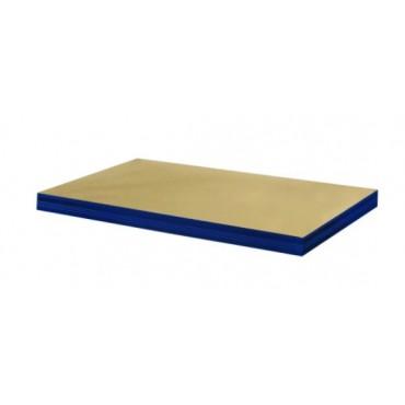 Półka niebieska 110x45 regał metalowy Helios 175kg