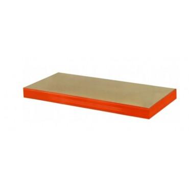 Półka pomarańczowa 110x45 regał metalowy Helios 400kg