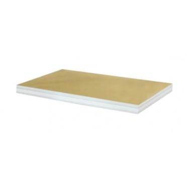 Półka biała 90x45 regał metalowy Helios 275kg