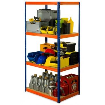 Helios Color 180x120x40 4p 175kg na półkę / Kolor: Niebiesko-Pomarańczowy