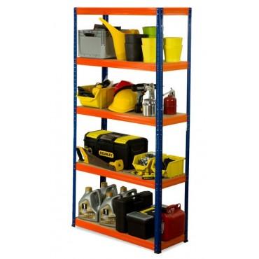 Helios Color 180x110x40 5p 175kg na półkę / Kolor: Niebiesko-Pomarańczowy