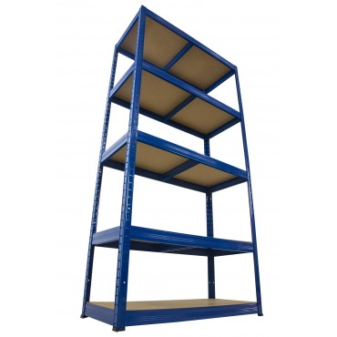 Helios Color 213x90x40 5p 175kg na półkę / Kolor: Niebiesko-Pomarańczowy