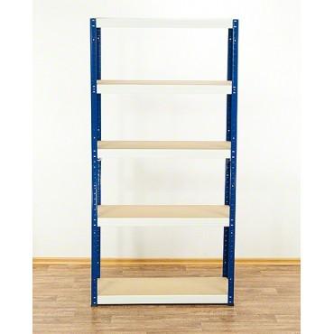 Helios Color 196x075x50 5p 175kg na półkę / Kolor: Niebiesko-Biały