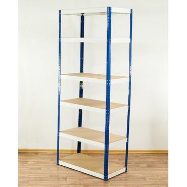 Helios Color 213x100x45 6p 175kg na półkę / Kolor: Niebiesko-Biały