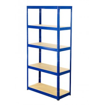 Helios Color 196x90x60 5p 350kg na półkę / Kolor: Niebiesko-Biały