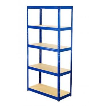 Helios Color 213x90x30 5p 350kg na półkę / Kolor: Niebiesko-Biały