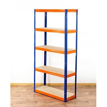 Helios Color 180x90x60 5p 275kg na półkę / Kolor: Niebiesko-Pomarańczowy
