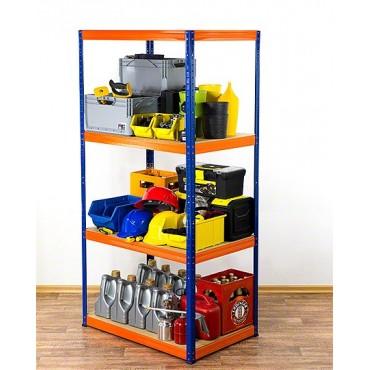 Helios Color 180x110x60 4p 350kg na półkę / Kolor: Niebiesko-Pomarańczowy