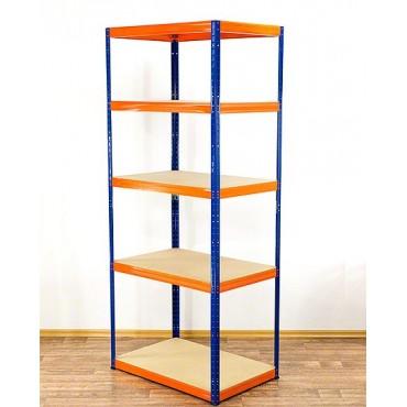 Helios Color 213x75x50 5p 350kg na półkę / Kolor: Niebiesko-Pomarańczowy