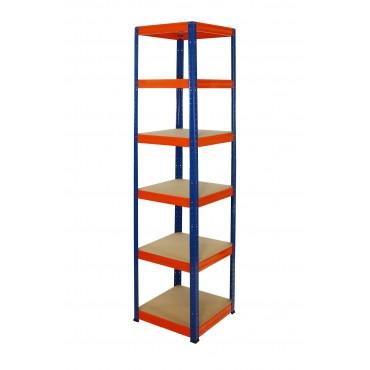 Helios Color 213x45x45 6p 175kg na półkę / Kolor: Niebiesko-Pomarańczowy