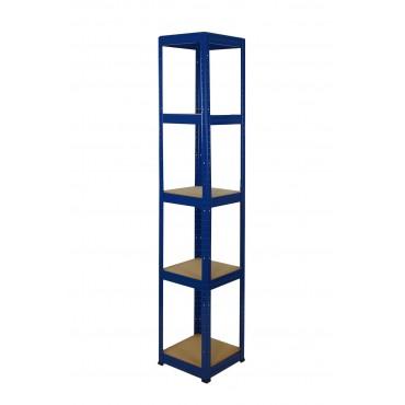 Helios Color 196x30x30 5p 175kg na półkę / Kolor: Niebiesko-Niebieski