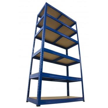Helios Color 213x100x30 6p 175kg na półkę / Kolor: Niebiesko-Niebieski